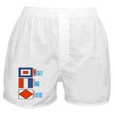 WTF Signal Flags Boxer Shorts