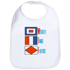WTF Signal Flags Bib