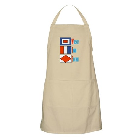WTF Signal Flags Apron