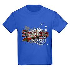 Sinclair Tartan Grunge T