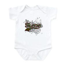 Skene Tartan Grunge Infant Bodysuit