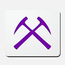 Purple Rock Hammers Mousepad