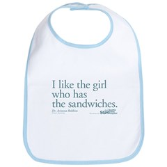 I Like the Girl Who Has the Sandwiches Bib