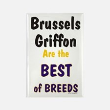 Brussels Griffon Best Breed Rectangle Magnet