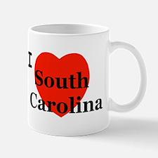 I Love South Carolina Mug