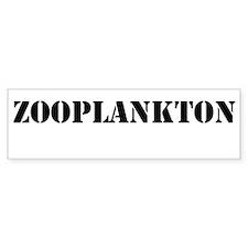 Zooplankton Sticker (Bumper)