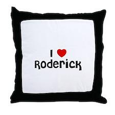 I * Roderick Throw Pillow