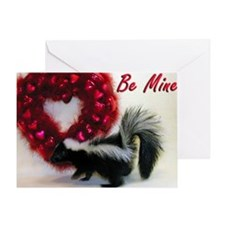 Skunk Valentine's Card - Love Stinks!