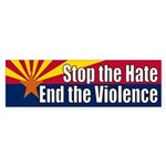 Arizona End the Violence bumper sticker