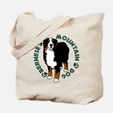 Standing Bernese Mountain Dog Tote Bag