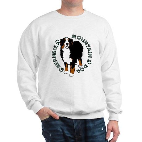 Standing Bernese Mountain Dog Sweatshirt