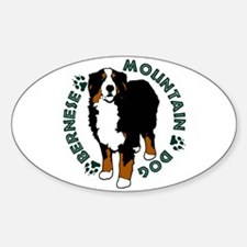 Standing Bernese Mountain Dog Decal