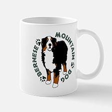 Standing Bernese Mountain Dog Mug