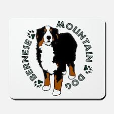 Standing Bernese Mountain Dog Mousepad