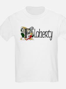 Flaherty Celtic Dragon Kids T-Shirt