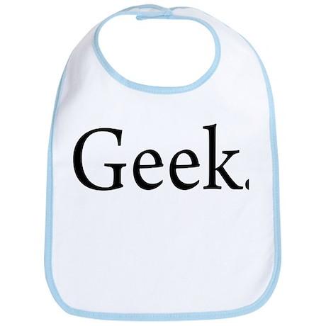 Geek. Bib