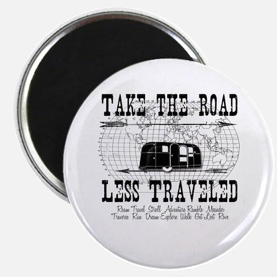 Road Less Traveled Magnet