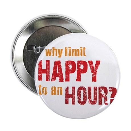 """Happy Hour 2.25"""" Button"""