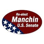 Re-elect Joe Manchin bumper sticker