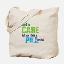 Care Pill Tote Bag