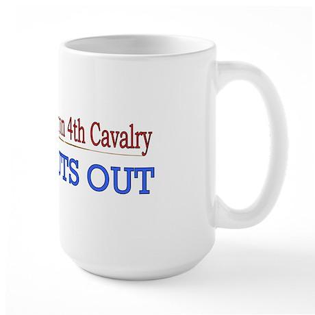 1st Squadron 4th Cavalry Large Mug