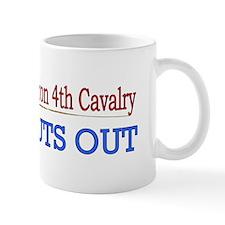 1st Squadron 4th Cavalry Small Mug