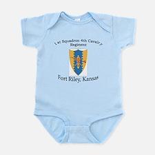 1st Squadron 4th Cavalry Infant Bodysuit
