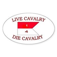 1st Squadron 4th Cavalry Decal