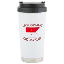 1st Squadron 4th Cavalry Travel Mug