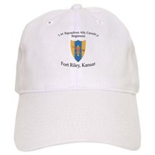1st Squadron 4th Cavalry Baseball Cap