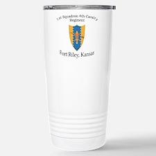 1st Squadron 4th Cavalry Travel Mug