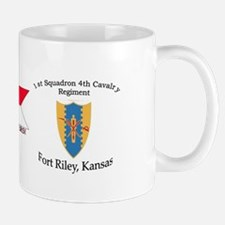 1st Squadron 4th Cavalry Small Small Mug