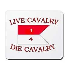 1st Squadron 4th Cavalry Mousepad