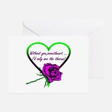 """Without You Sweetheart"" Card"