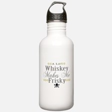 A lil' Whiskey Makes Me Frisk Water Bottle