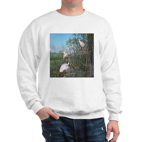 spoonbills Sweatshirt