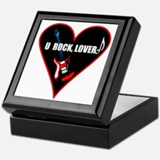 """U Rock Lover!"" Keepsake Box"