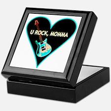 """U Rock Momma"" Keepsake Box"