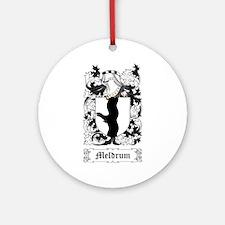 Meldrum Ornament (Round)