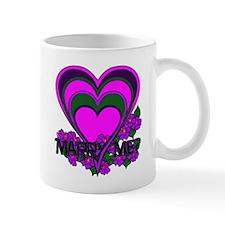 """Marry Me"" Mug"