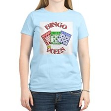 Bingo Queen Women's Pink T-Shirt