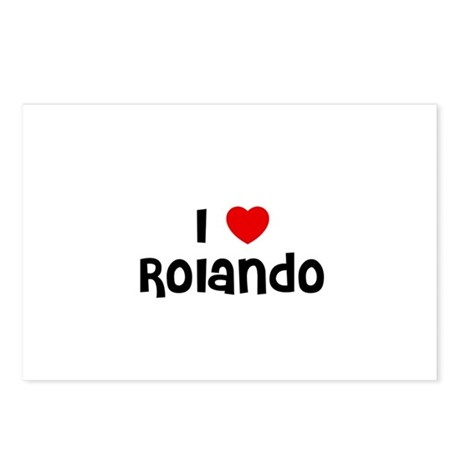 I * Rolando Postcards (Package of 8)