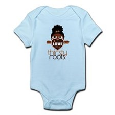 Lil' Girl Puff Ponytail Infant Bodysuit
