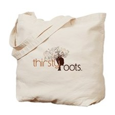 Thirsty Roots Logo Tote Bag