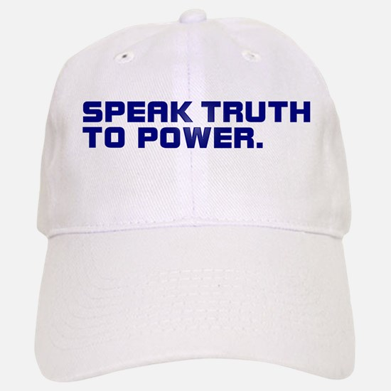 SPEAK TRUTH TO POWER Baseball Baseball Cap