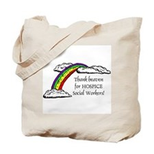 Thank Heaven Hospice Tote Bag