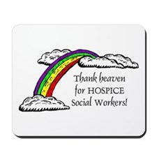 Thank Heaven Hospice Mousepad