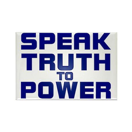 SPEAK TRUTH TO POWER Fridge Magnet (10 pack)