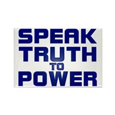 SPEAK TRUTH TO POWER Refrigerator Magnet