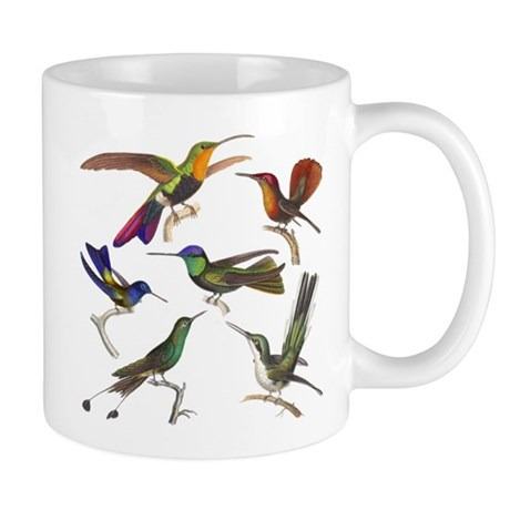 Six Pretty Hummingbirds Mug